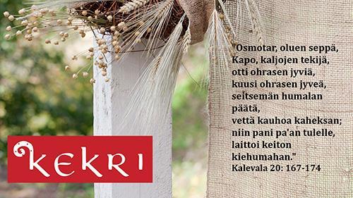 Kekri – suomalaisen oluen juhla 10.11.2017