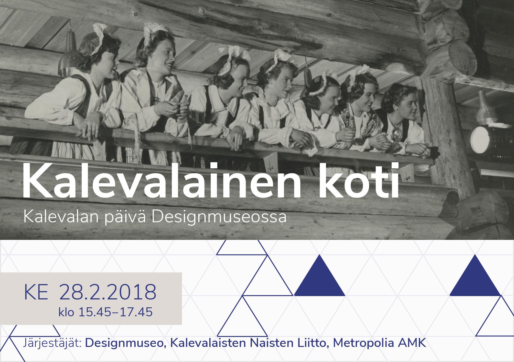 Kalevalan päivä Designmuseossa 28.2.2018