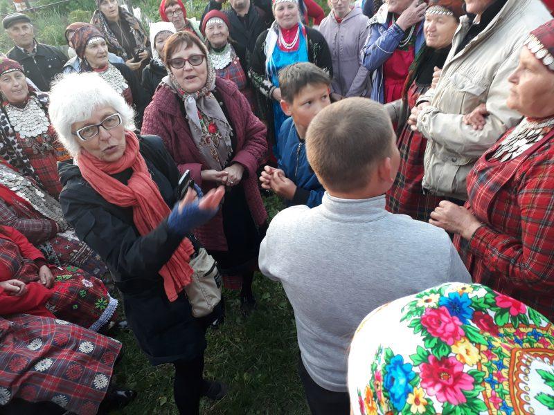 Buranovan mummojen ja muiden udmurttien vieraina