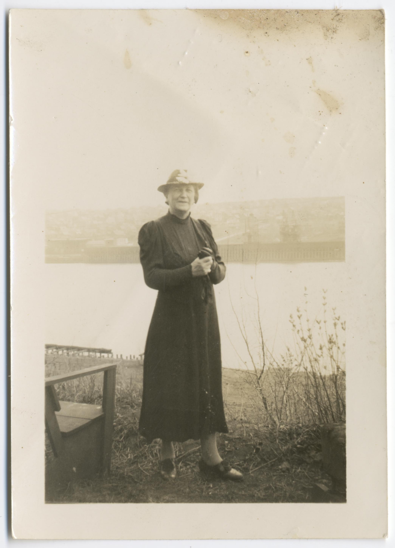 Elsa Heporauta Keskisuomalaisen sotakirjeenvaihtajana v. 1918