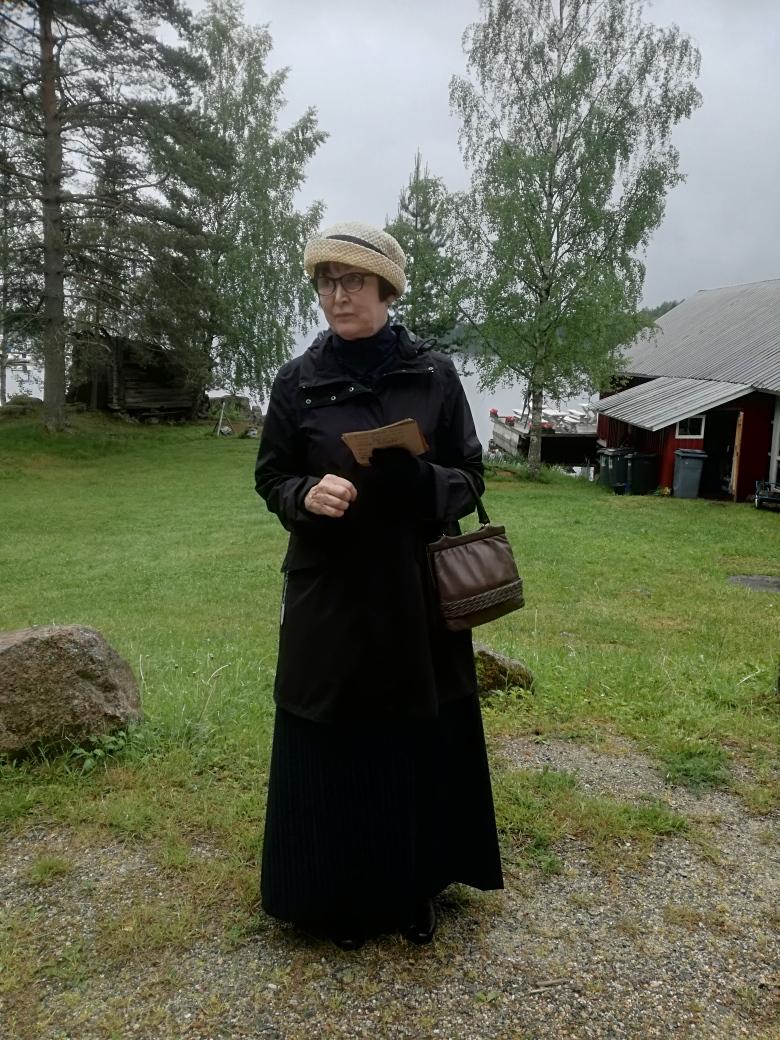 Elsa Heporaudan jalanjäljillä Puumalassa